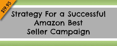 Strategy For a Successful Amazon Best Seller Campaign