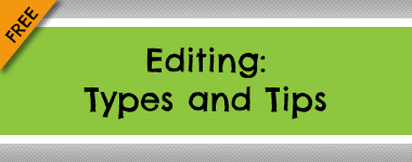 Editing: Types and Tips