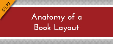 Anatomy of a Book Layout