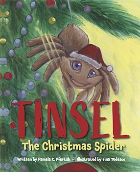 Tinsel the Christmas Spider